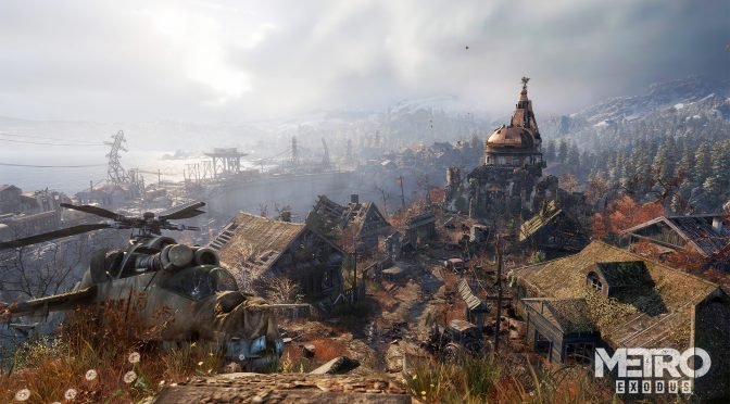 Latest Metro Exodus update significantly improves DLSS quality, comparison screenshots