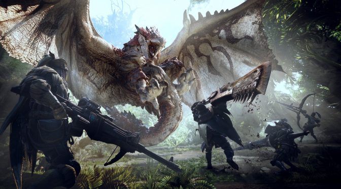 Monster Hunter World gets an amazing new gameplay trailer