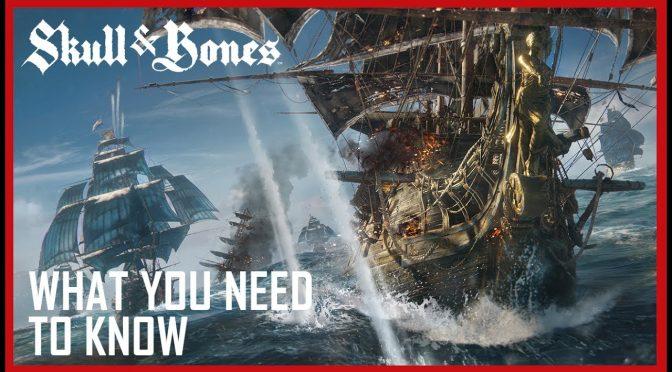 Ubisoft announces a new IP, Skull & Bones – First Details & E3 2017 Gameplay Walkthrough