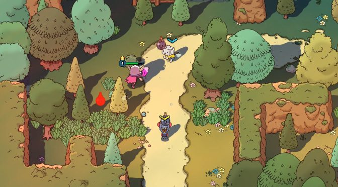 Here is 12 minutes of gameplay footage from the E3 2017 build of The Swords of Ditto