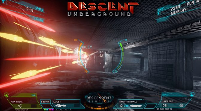 Descent: Underground gets a free demo for a limited time