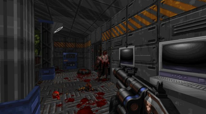 Ion Maiden is a new retro first-person shooter powered by Duke Nukem 3D's Build Engine