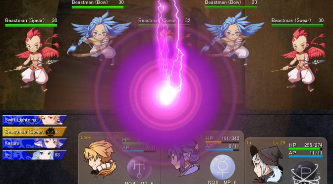 Lionheart is a new JRPG that is coming to Steam on July 31st