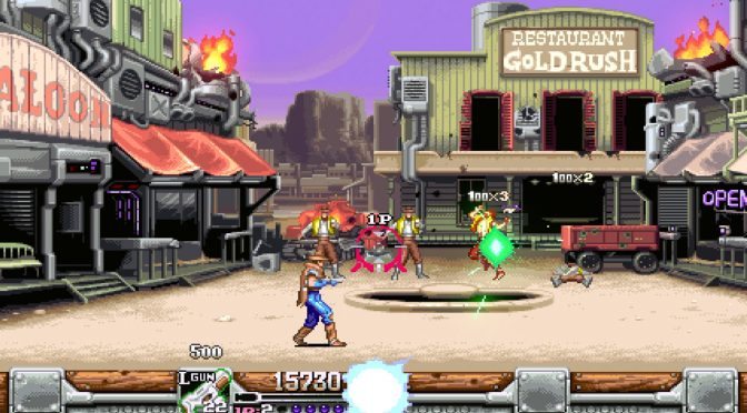 Wild Guns Reloaded is now available on Steam