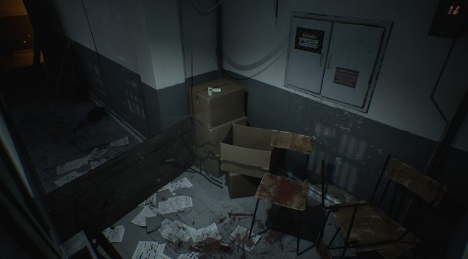 Here is the classic police station scene from Resident Evil 3 being recreated in Unreal Engine