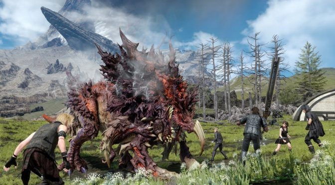 Here is Final Fantasy XV running in 4K with 60fps on the PC