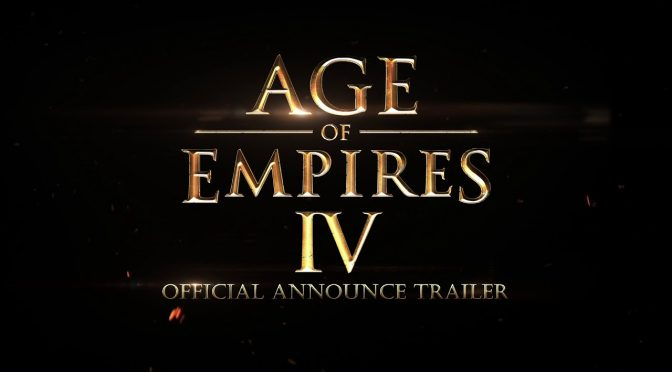 First gameplay trailer released for Age of Empires 4