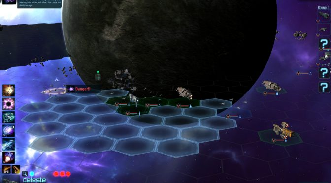 New gameplay video shows the first level from Ancient Frontier, a new sci-fi turn based strategy game