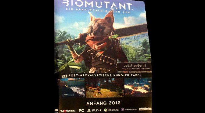 Biomutant – THQ Nordic Post Apocalyptic World Leak