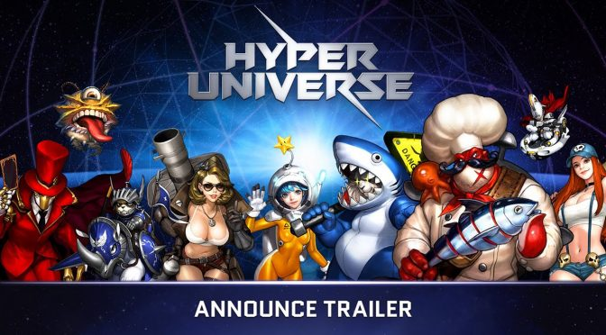 Side-Scrolling Action Packed MOBA Hyper Universe Available