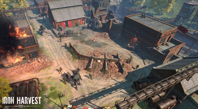 Real-time strategy game, Iron Harvest, to be playable at Gamescom 2019