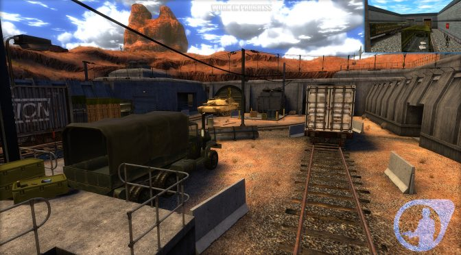 Guard Duty is a Source Engine remake of the classic Half-Life: Blue Shift