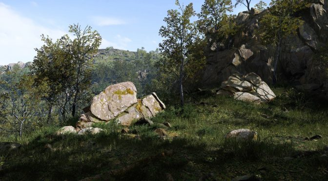 Crytek's Senior Cinematic Artist shows gorgeous mountain and forest environments in CRYENGINE