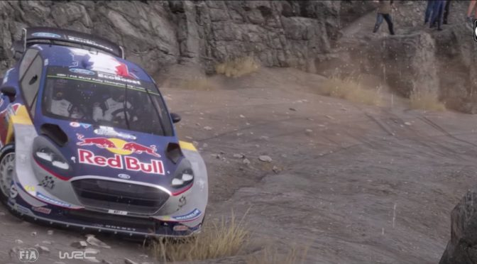 WRC 7 New Ford Fiesta Gameplay Trailer Released