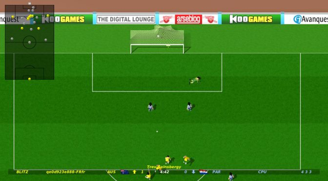 Dino Dini's Kick Off Revival is coming to the PC on September 12th