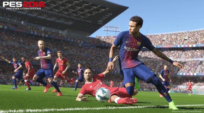 Pro Evolution Soccer 2018 – First Impressions + 4K Screenshots + Full Match