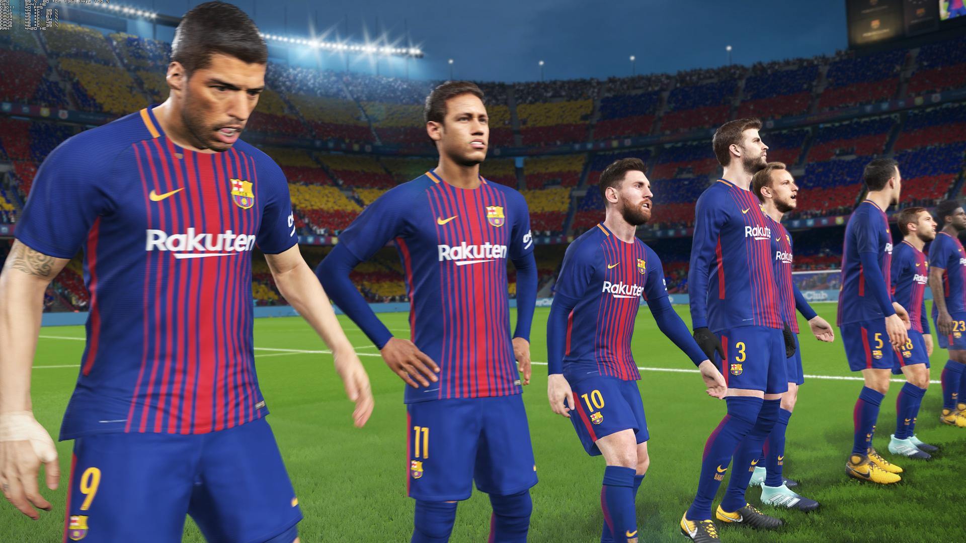 Pro Evolution Soccer 2018 - First Impressions + 4K