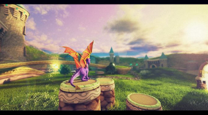 What if Spyro: The Dragon, Sonic R and Rayman were remade in Unreal Engine 4