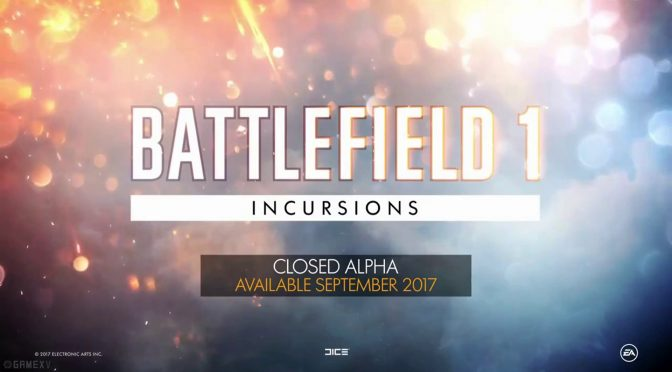 Battlefield 1 Incursions 5v5 Competitive Mode Alpha Has Gone Live
