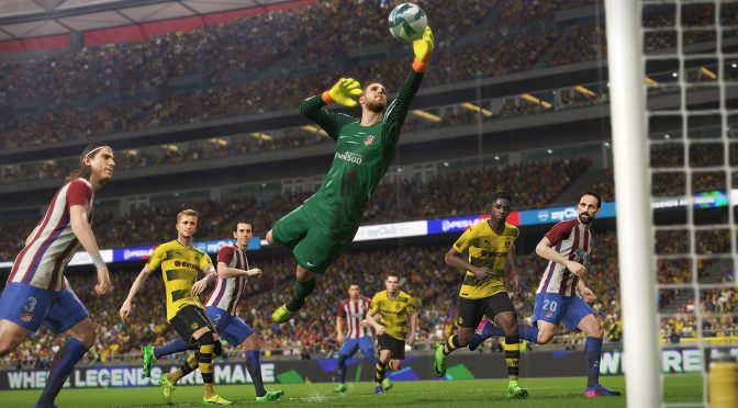 Pro Evolution Soccer 2018 PC demo is now available for download