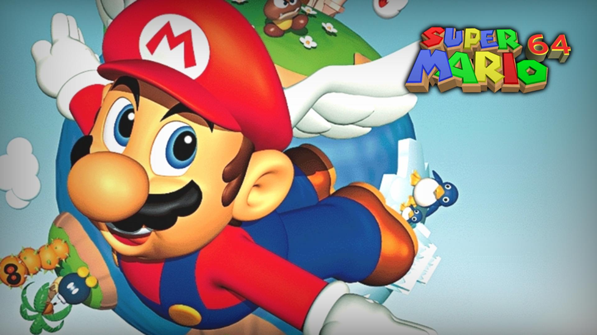 New Super Mario 64 Pc Mods Add Retro Hd Models Fix Mario S Hd Model Head Glitch