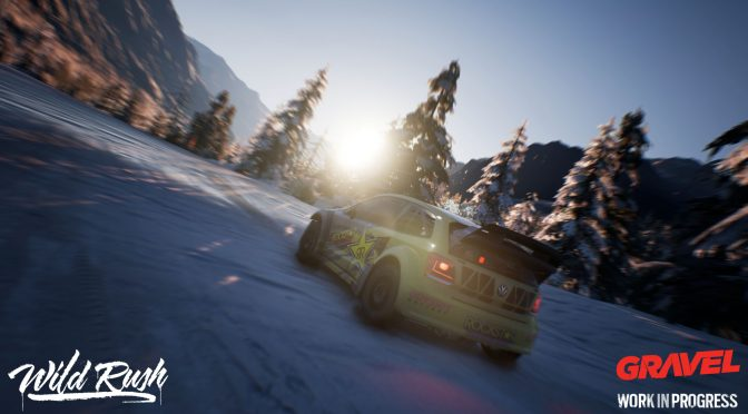 New gameplay video for Milestone's Gravel shows off snow weather and Wild Rush mode