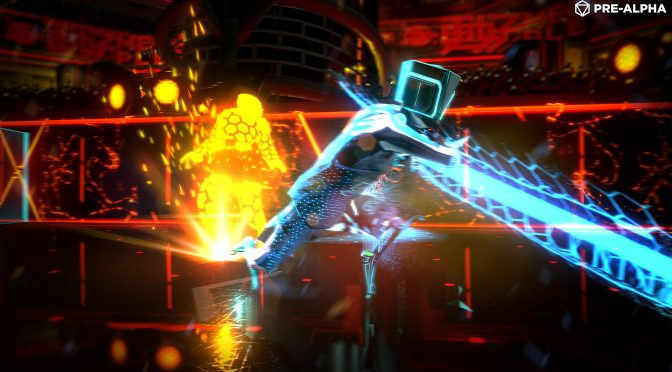 We are giving away 50 keys (and perhaps more) for Laser League's Closed Beta