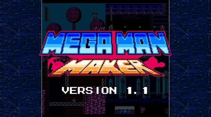 Mega Man Maker Version 1.1 has been released