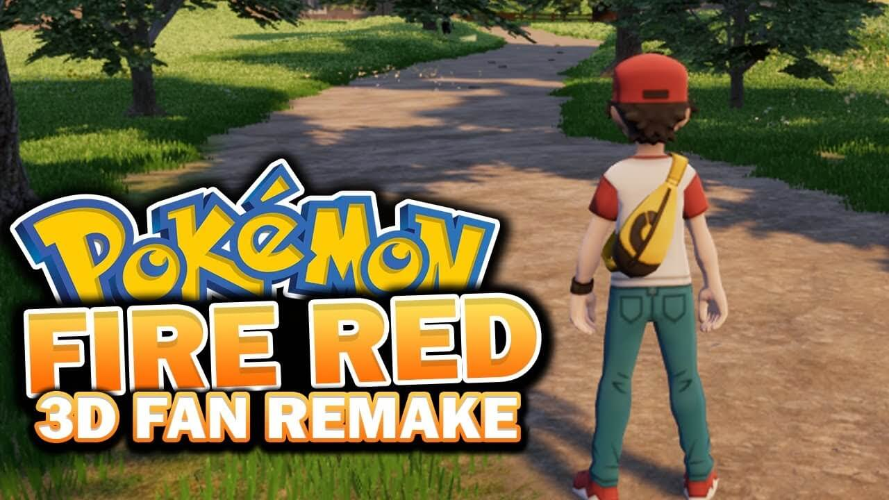 Pokemon Fire Red gets a fan remake in Unreal Engine 4, demo now available  for download