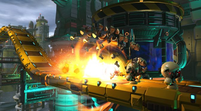 New screenshots released for Sonic Forces, showing off custom Hero Character & Chemical Plant