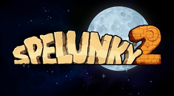 Spelunky 2 has been officially announced