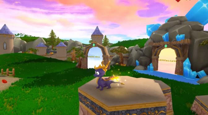 Someone has recreated Spyro: The Dragon's Artisans Revisited in Unreal Engine 4 and it looks lovely