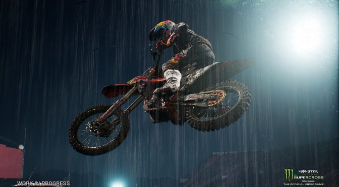 Milestone is working on a new off-road motorcycle, Monster Energy Supercross – The Official Videogame