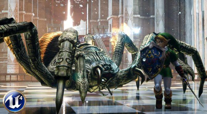 The Legend of Zelda Wii U E3 2011 Tech Demo recreated in