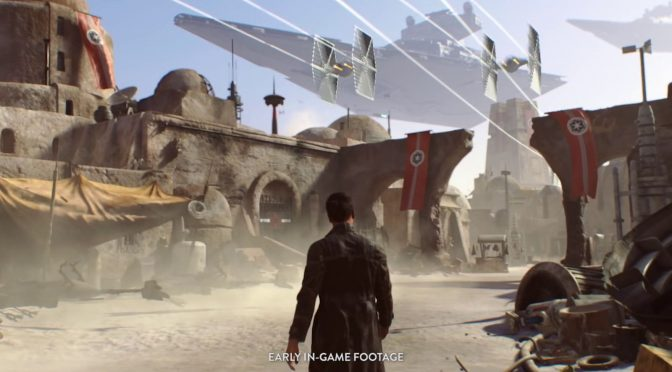 EA's new triple-A open-world Star Wars game will feature a single-player narrative campaign