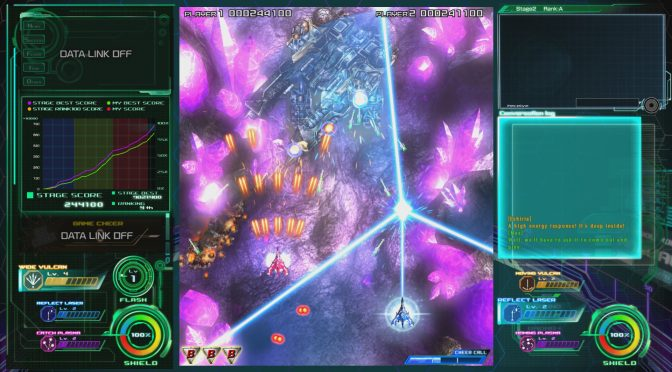 Raiden V: Director's Cut is now available on Steam
