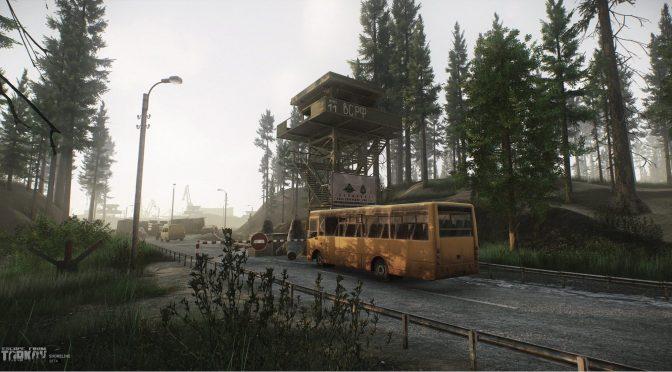 New screenshots released for Escape from Tarkov, showcasing the Shoreline location