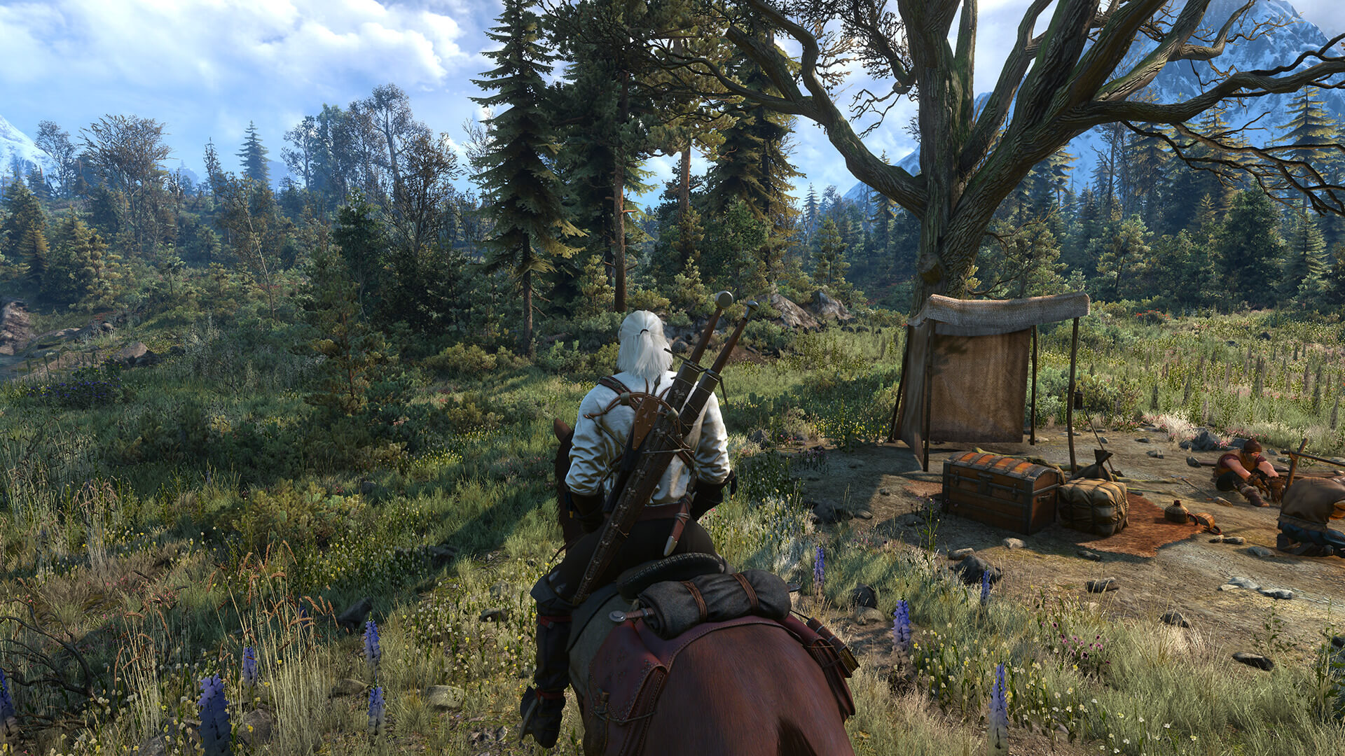The Witcher 3 - Beautiful Grass Mod Version 3 is available