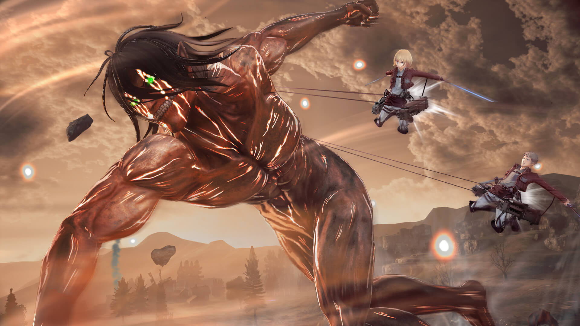 New Gameplay Features Lots Of Screenshots Revealed For Attack On Titan 2
