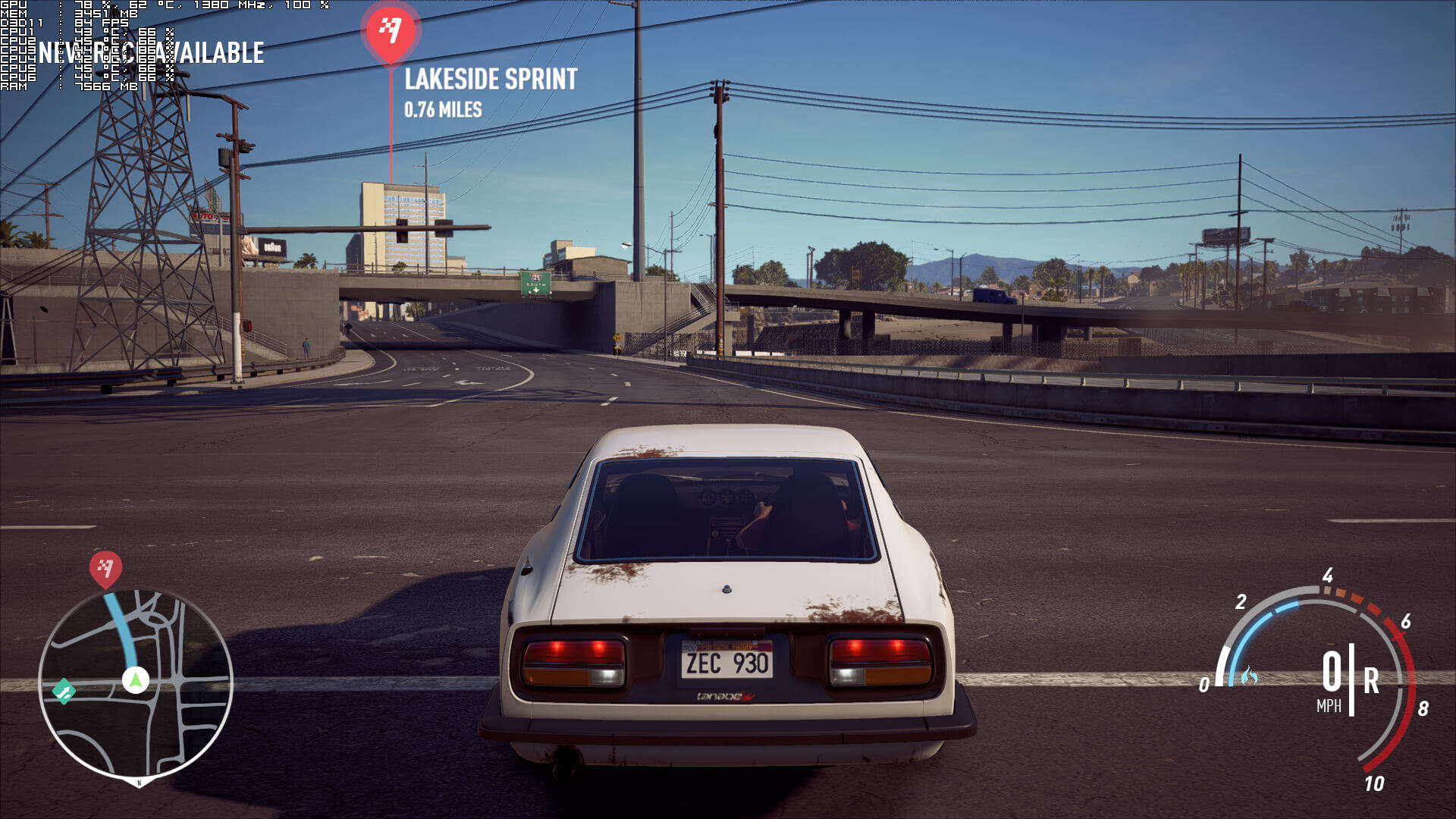 Need For Speed Payback PC Performance Analysis - DSOGaming