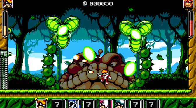 Super Mighty Power Man is a Mega Man-inspired game, coming to the PC