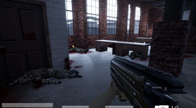 Demo released for the indie first-person shooter inspired by FEAR, Trepang2