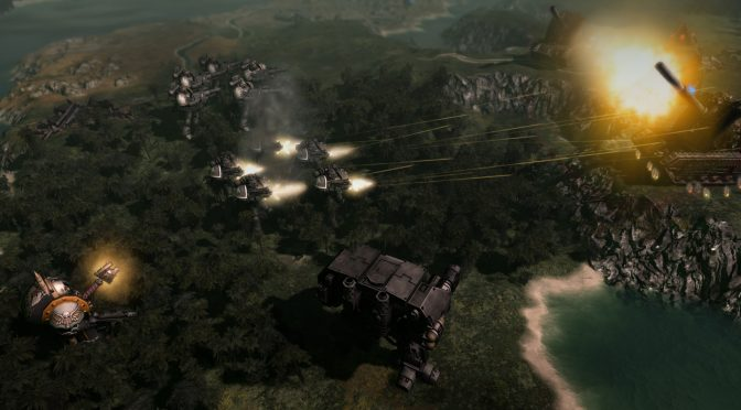 Warhammer 40,000: Gladius – Relics of War is a new 4X turn-based strategy game