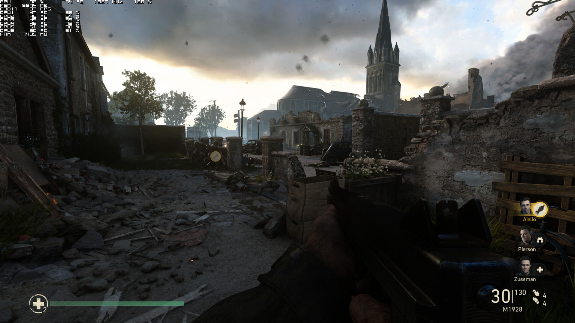 Call of Duty: WWII PC Performance Analysis - DSOGaming