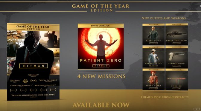 Hitman Game of The Year Edition Launched