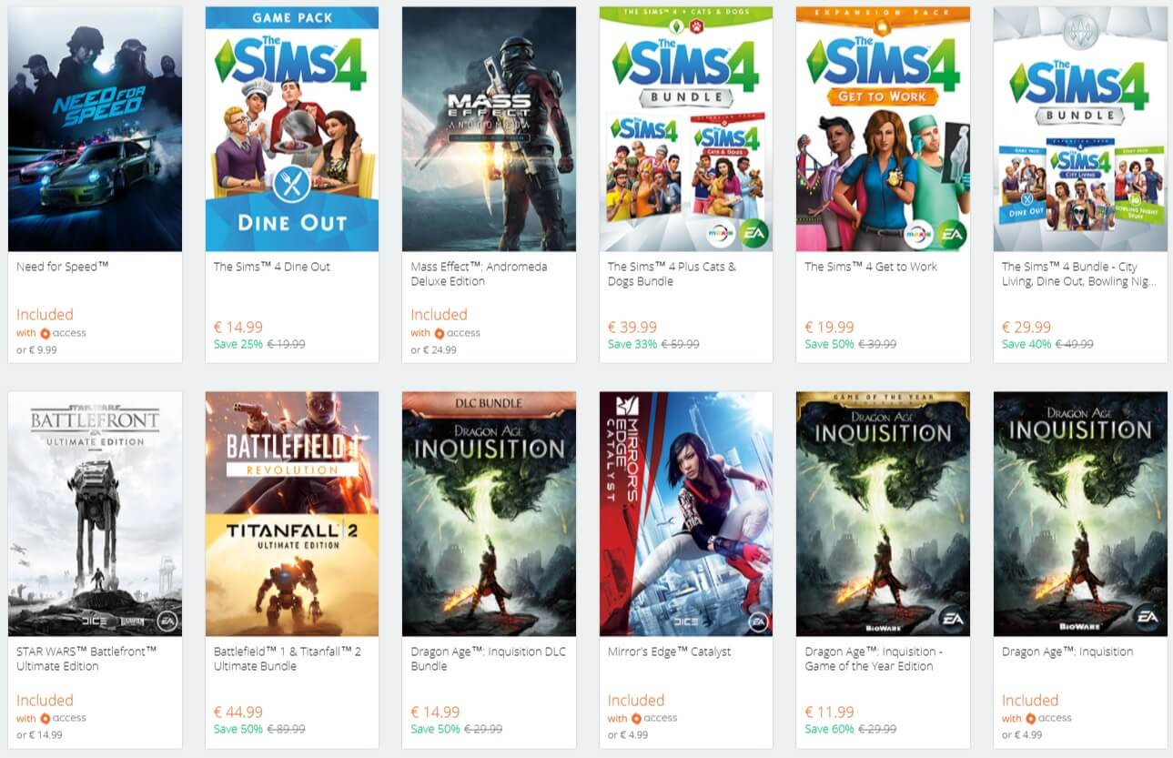 electronic arts launches ea origin holiday sale with up to 75