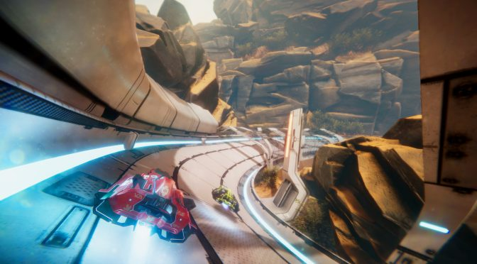 Anti-gravity futuristic racing game, Antigraviator, is now available on the PC