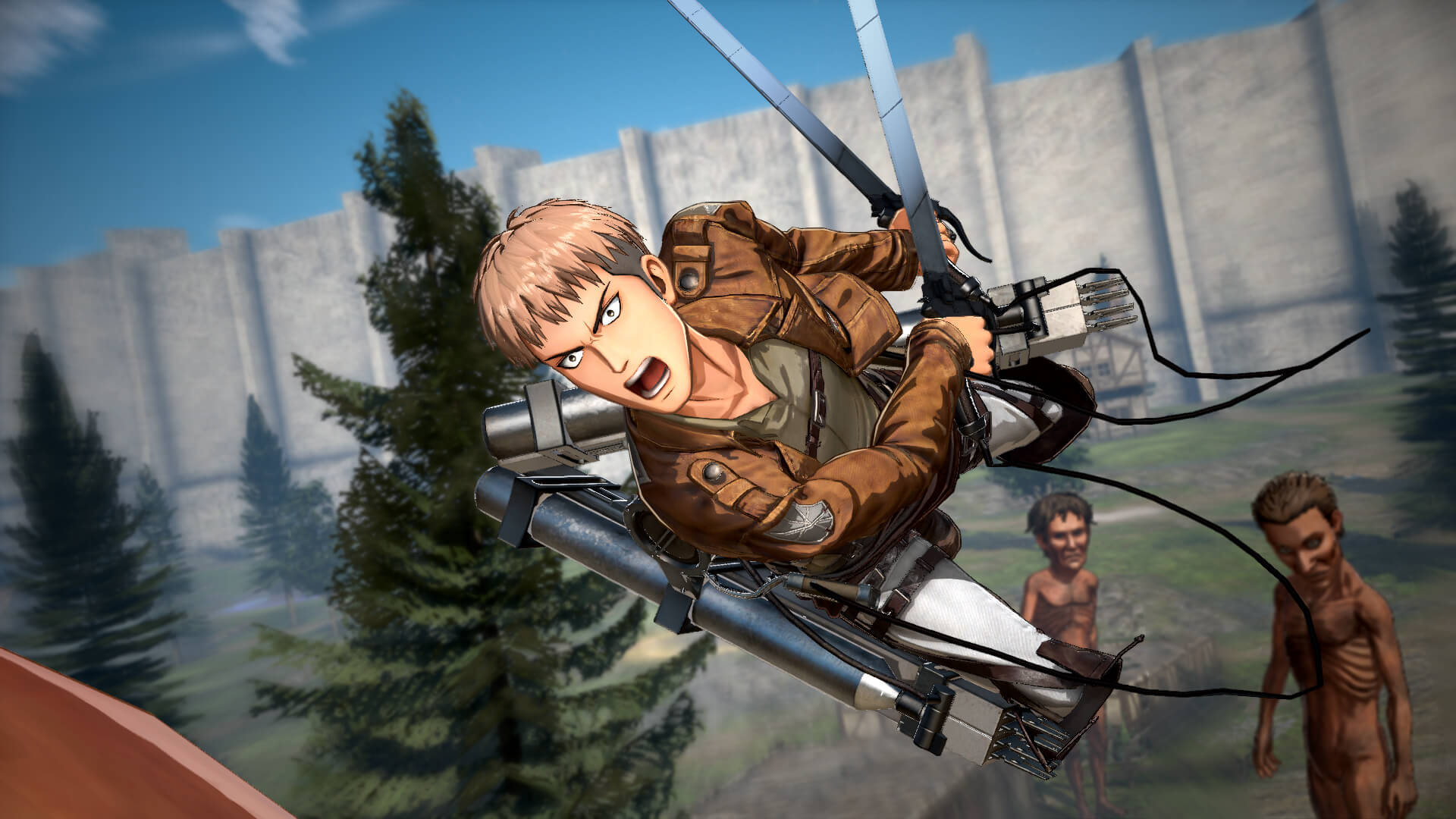 Attack on Titan 2 - Custom Character Creation & Town Life