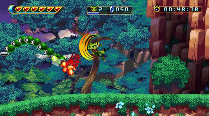 New gameplay video for the Sonic-inspired platformer, Freedom Planet 2, looks retro-amazing