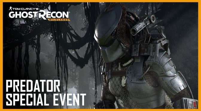 Tom Clancy's Ghost Recon Wildlands gets a free Predator special event, begins on December 14th